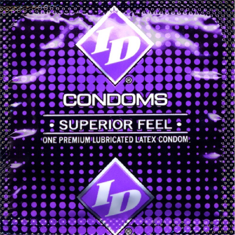 ID Superior Feel Lubricated Condoms (1000/case)
